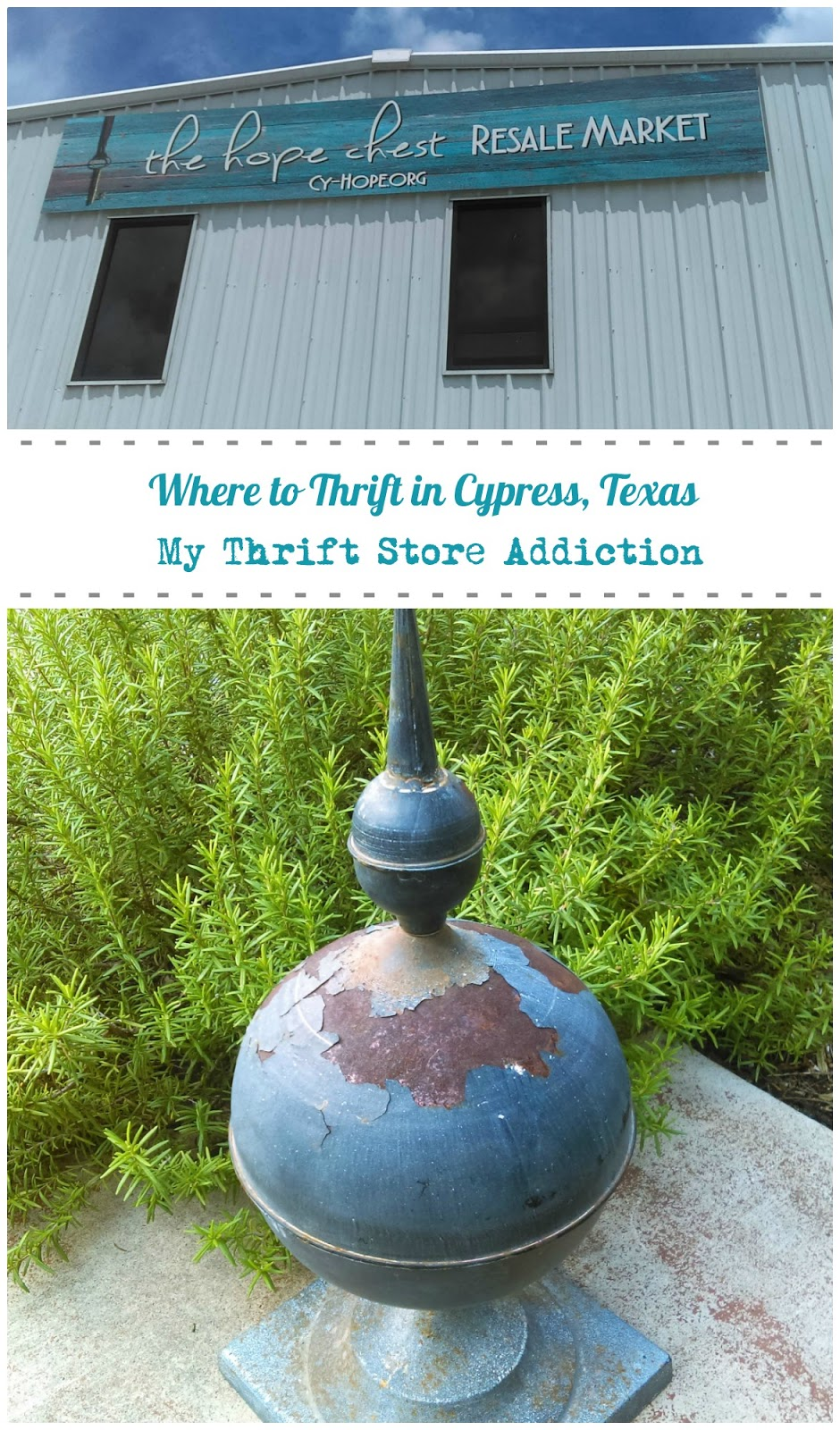 thrifting in Cypress Texas