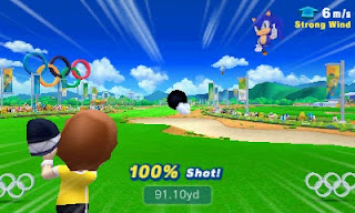 Mario and Sonic At The Rio 2016 Olympic Games golf