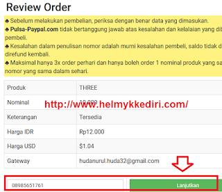 Cara membeli pulsa online lewat paypal4