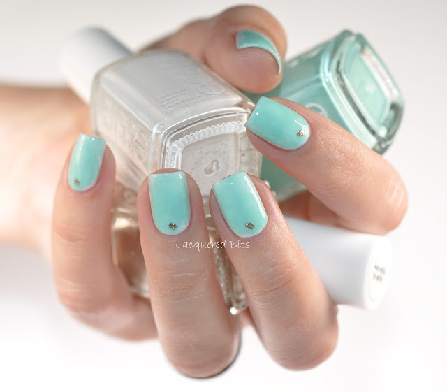 Turquoise Over White