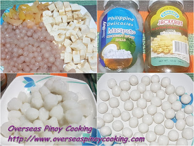 Ginataang Halo Halo, Special - Sweet Ingredients