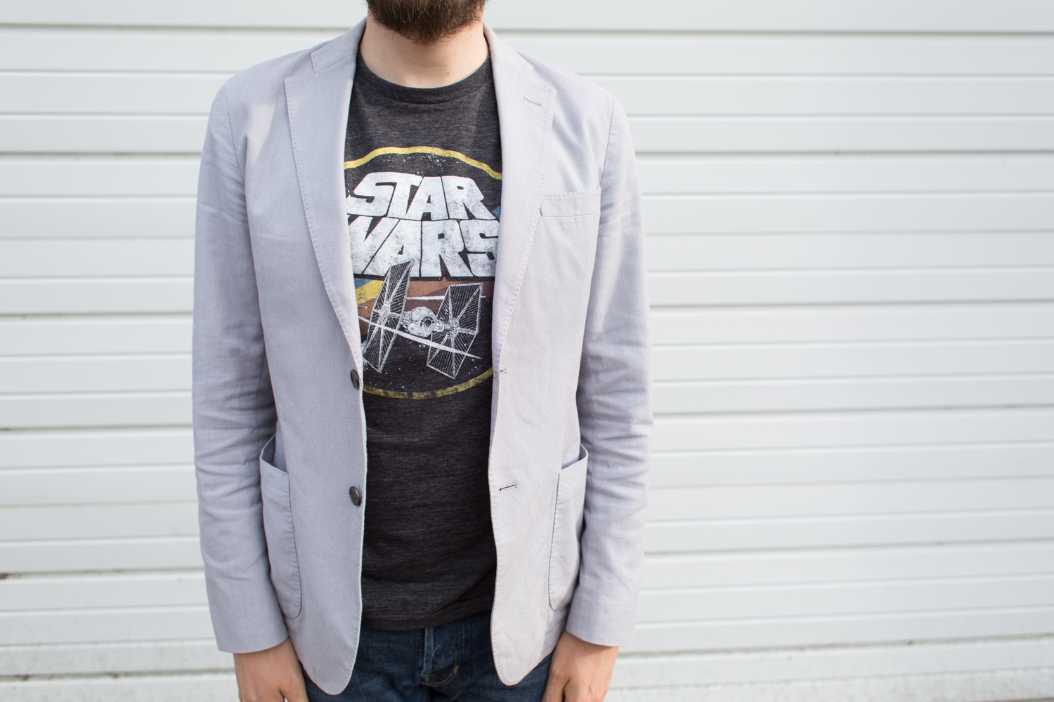 Handsome Mens Star Wars Style