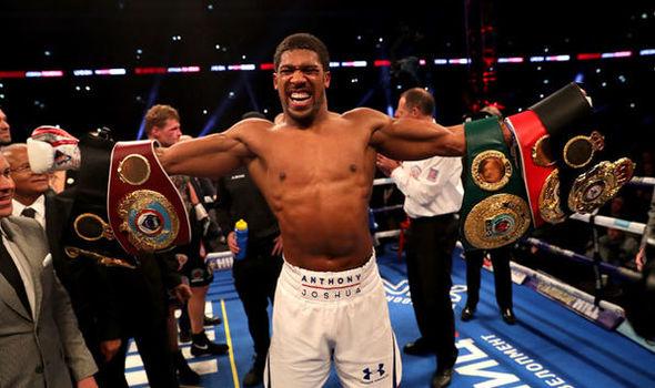 Joshua Set To Fight Winner Of Wilder-Fury