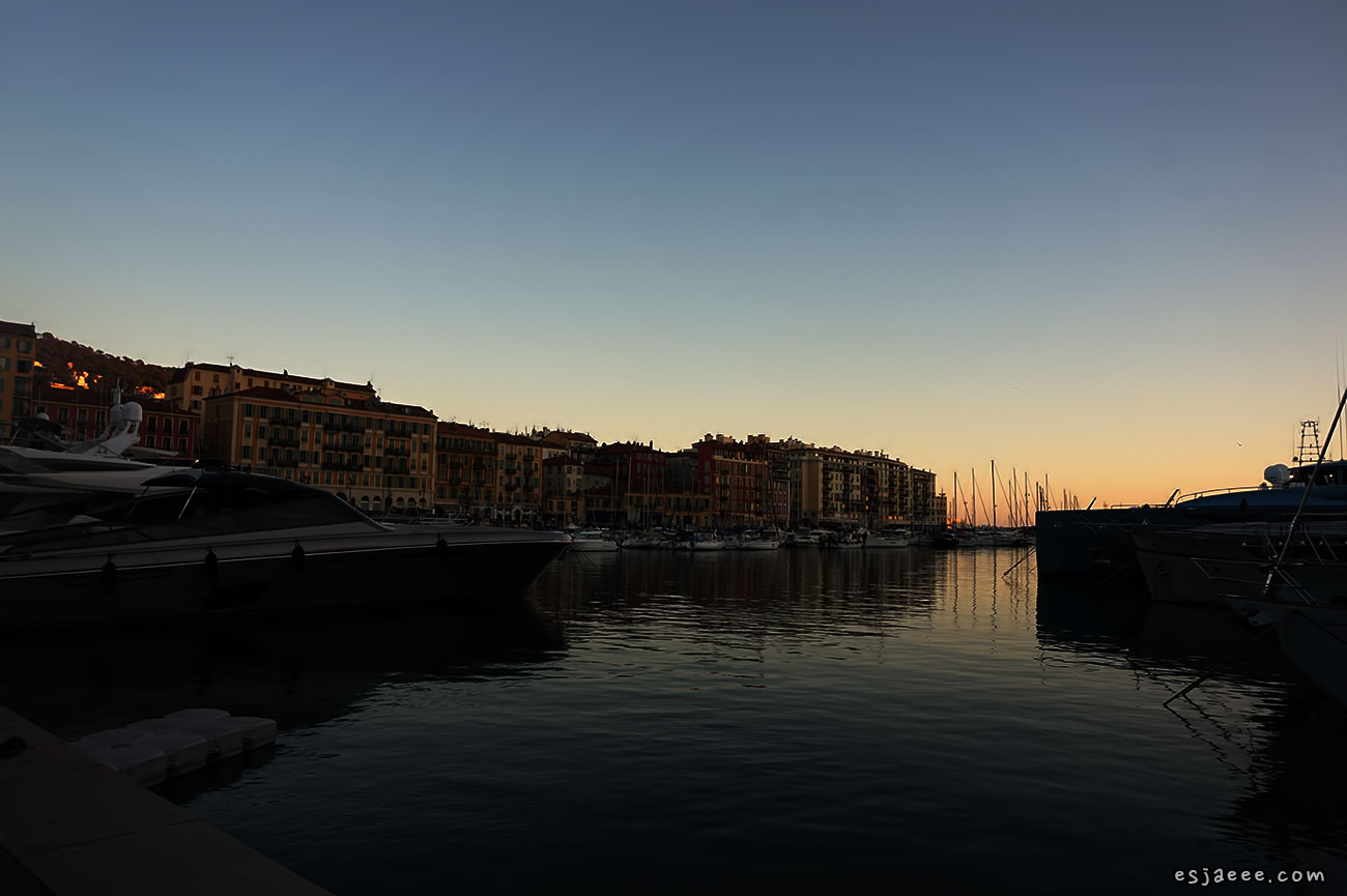 Sunset at Port Lympia