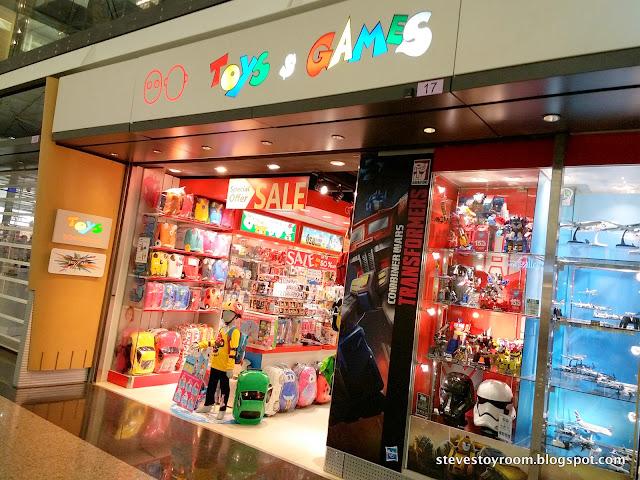 Toys & Games Hong Kong Airport