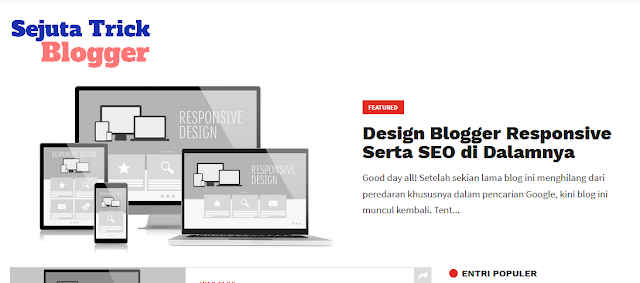 Screen Shoot Featured Post Sejuta Trik Blogger