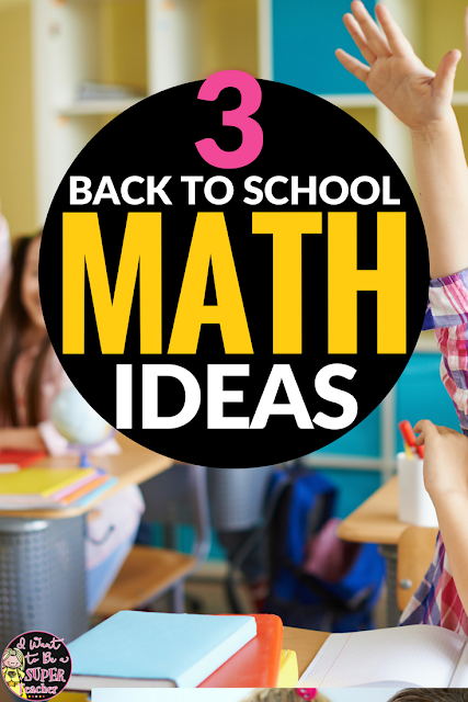 Looking for math ideas for the first weeks of school? These activities are perfect for kids in 2nd and 3rd grade. Includes activity ideas, free printables, and tips for implementing. Click to learn more!