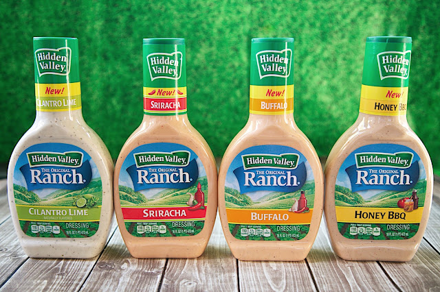 New Hidden Valley Ranch Flavors - Cilantro Lime, Sriracha, Buffalo and Honey BBQ