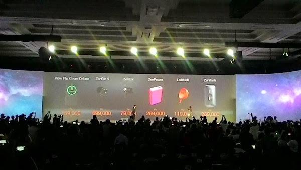 Askesoris untuk Zenfone 2 telah resmi rilis di indonesia