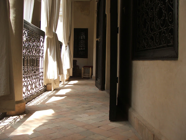 riad Marrakech balconata