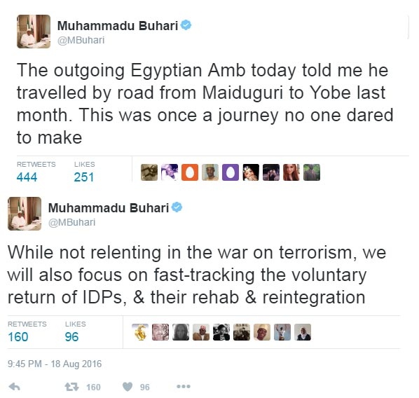Egyptian ambassador to Nigeria travels by road - president Buhari