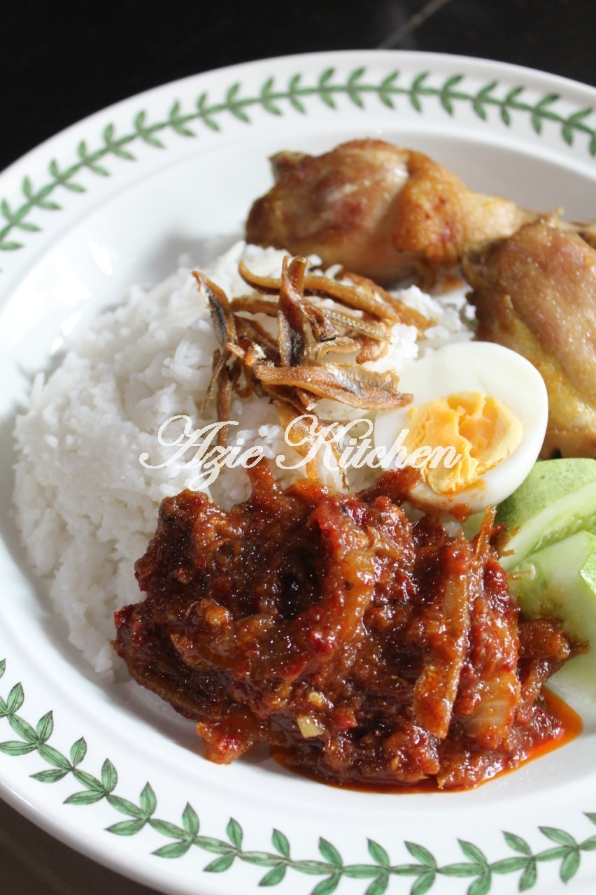 My Powerful Lunch Nasi Lemak Ayam Too Big Po 6 7