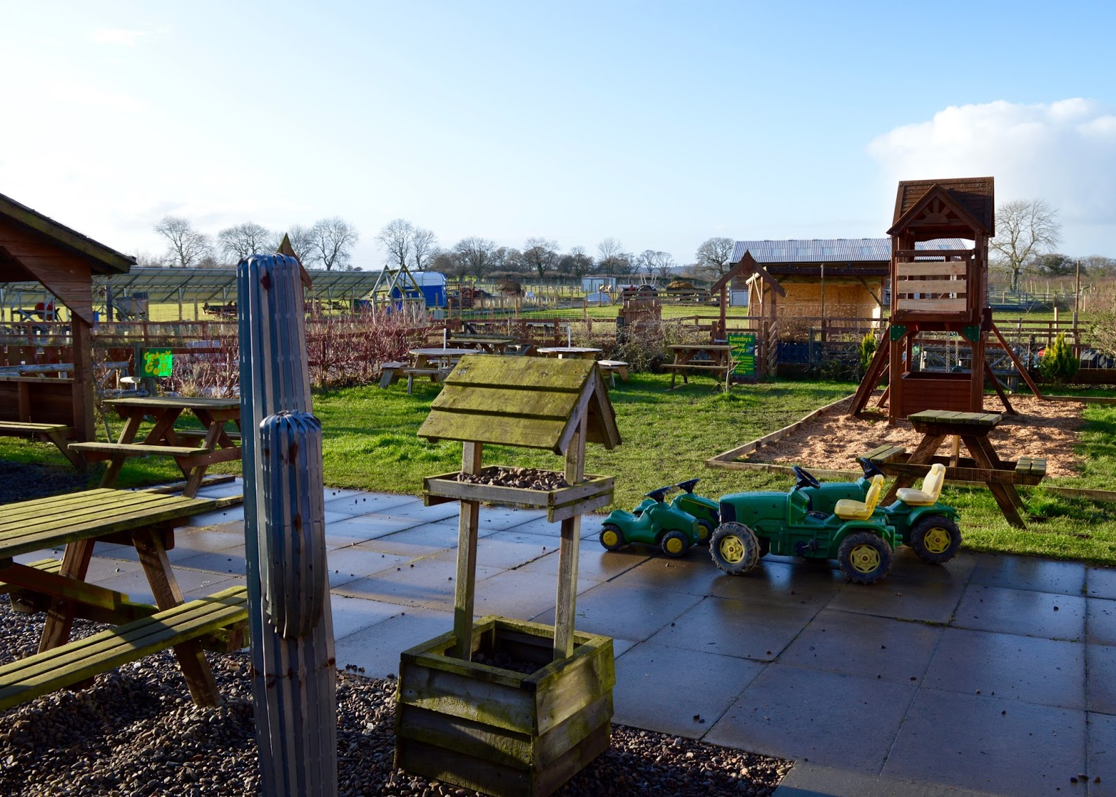 Northumberland County Zoo Reviews - outdoor play area