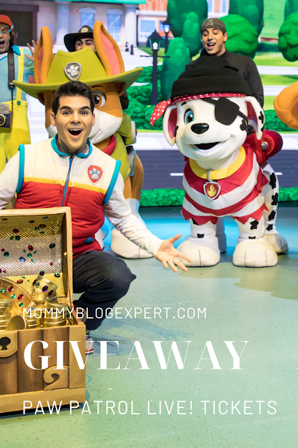PAW Patrol Live Ticket Sweepstakes
