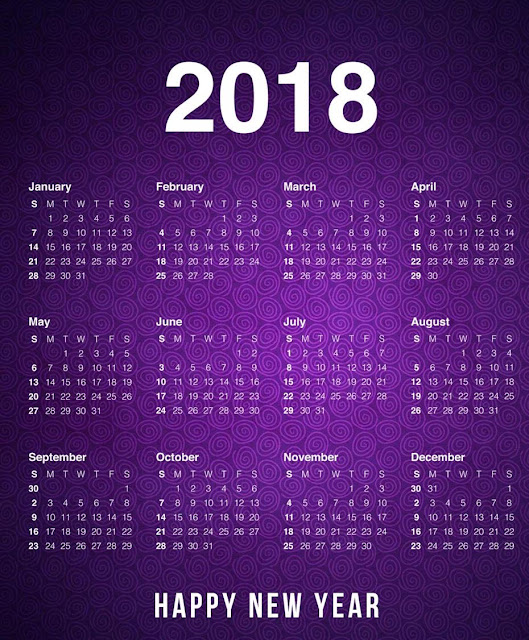 New Year Pocket Calendar