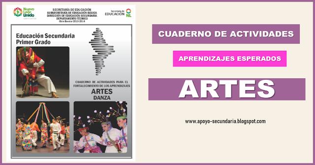 Cuaderno de practicas de apoyo para la asignatura de Artes en Secundaria