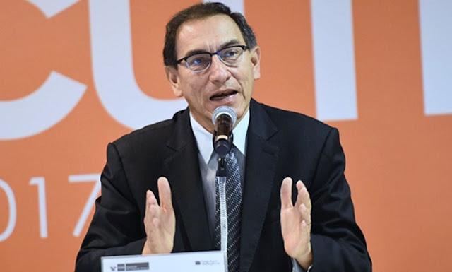 El presidente Martín Vizcarra anunció esta noche que ha adelantado su retorno al país desde Brasil a donde acudió para asistir a la ceremonia de asunción de Jair Bolsonaro debido a la decisión fiscal de la Nación