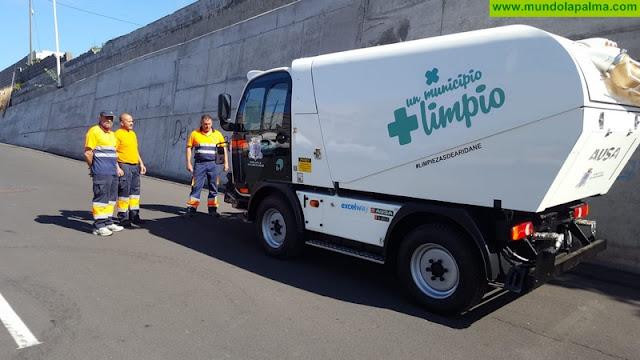El Ayuntamiento de Los Llanos renueva la flota municipal de vehículos de limpieza