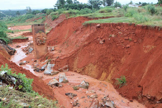 FEDERAL HIGH COURT, AWKA UNDER GULLY EROSION THREAT