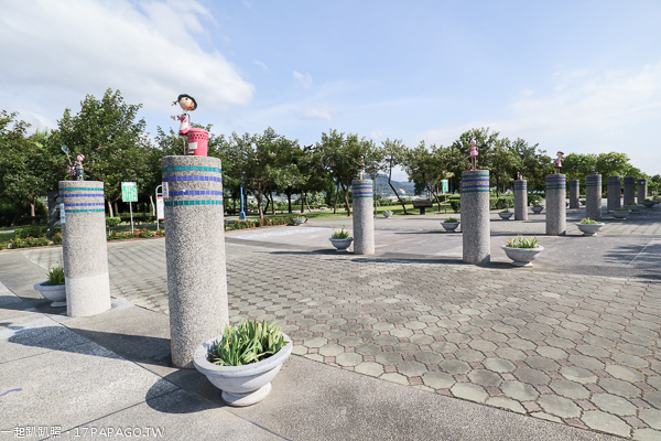 台中太平|921震災紀念公園|台中最長溜滑梯23.4米幸福道|台中最大3D石虎地景彩繪
