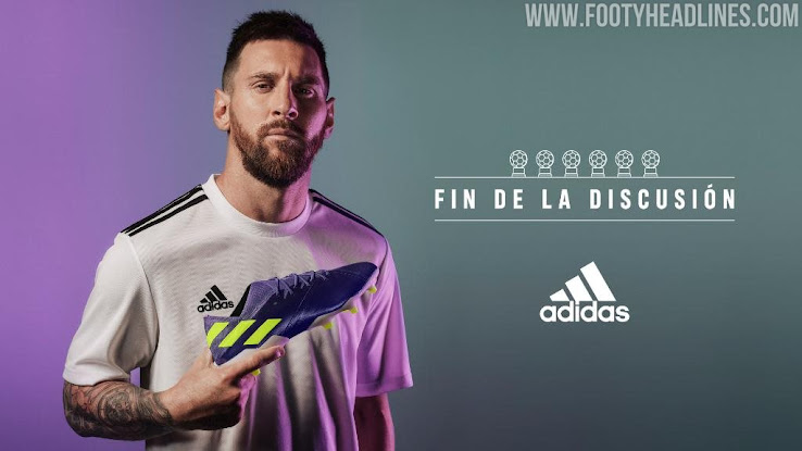 Purple Electricity Adidas Nemeziz Messi Ballon D Or 2019 Boots Released Inspired By 2010 World Cup Colorway Footy Headlines