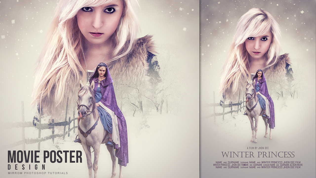 Make a Movie Poster With Soft Color Effect In Photoshop