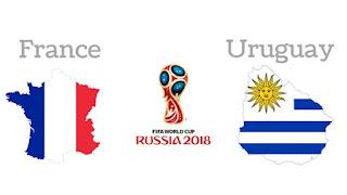 مباراة فرنسا واوروجواي اليوم 6-7-2018 دور ال8 كاس العالم 2018 روسيا
