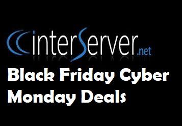 Interserver Black Friday Deal