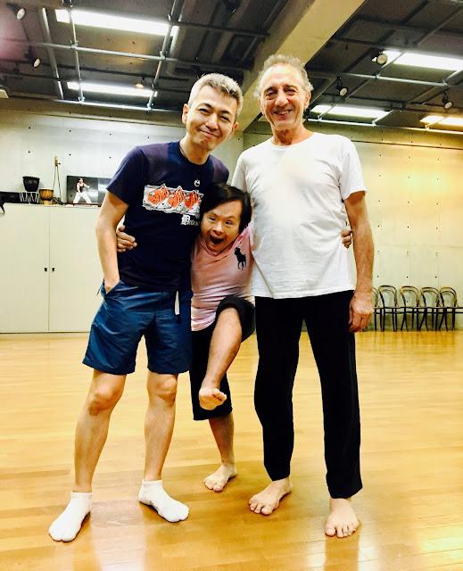 ジャン・サスポータス、矢萩竜太郎、喜多直毅