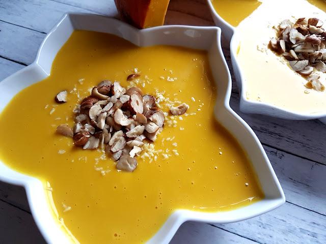 zupa dyniowa - zupa krem z dyni - frytki z marchewki - ciastka dyniowe z cynamonem - smaki jesieni