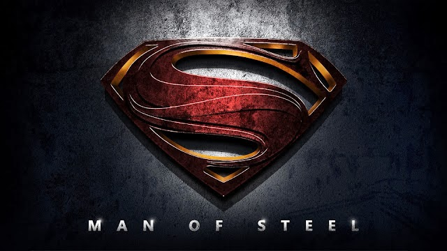 New Superman Emblem Man of Steel Logo