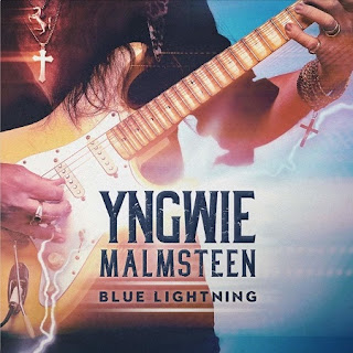 "Ο δίσκος του Yngwie Malmsteen ""Blue Lightning"""