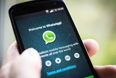 WhatsApp resposta em barra rápida de navegação