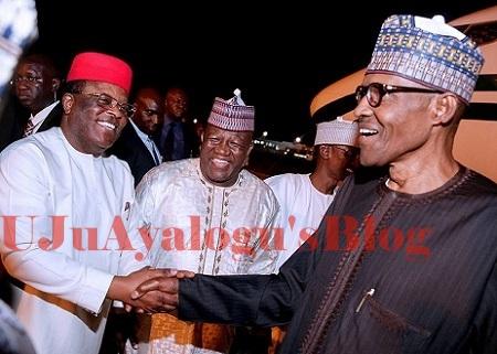 Why I Actually Endorsed For Buhari 2nd Term - PDP Govs Forum Chairman, Umahi
