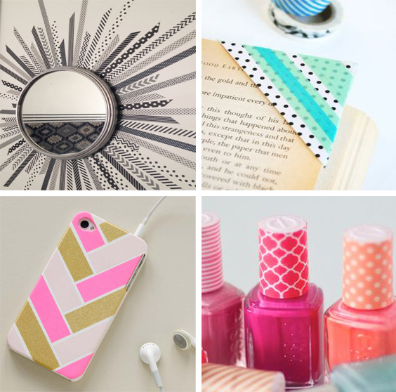 20 best washi tape ideas that would keep you up all night for Crafts with washi tape
