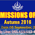 AIOU Admission Open August 2016 for Matric to Ph.D Programs