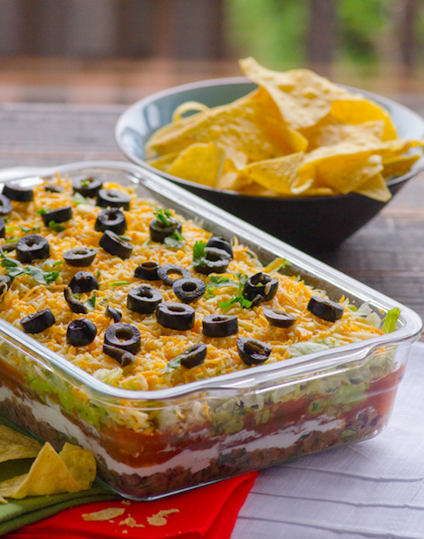 iFood Real 7 Layer Dip