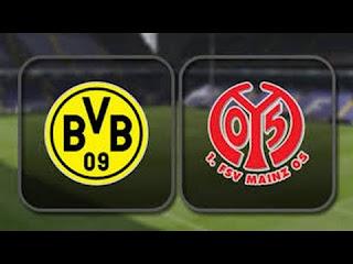 مشاهدة مباراة ماينز 05 وبوروسيا دورتموند بث مباشر بتاريخ 24-11-2018 الدوري الالماني