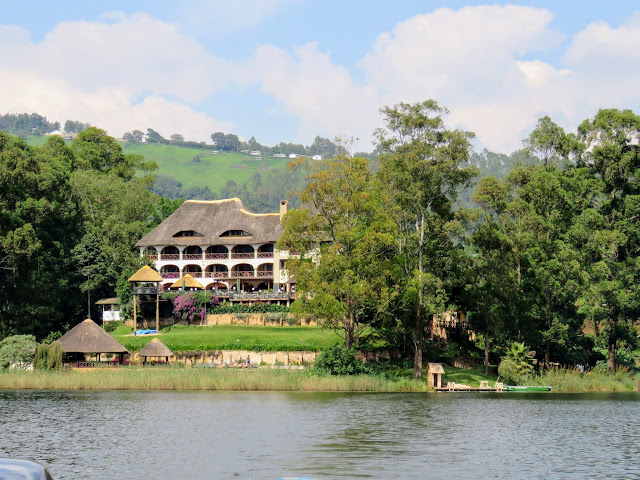 Birdnest @ Bunyonyi lodge in Uganda