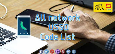 All network USSD Code List hindi