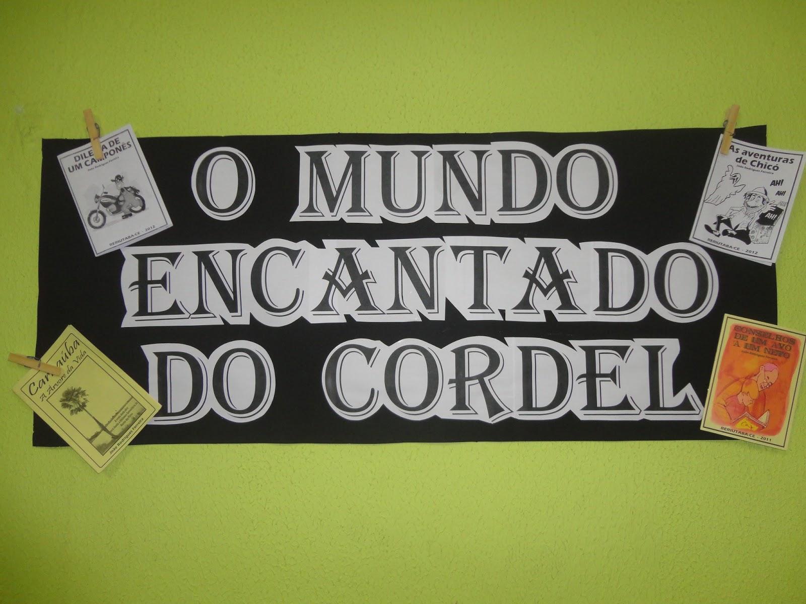 Blog Dos CordÉis: Blog Do Riacho: João Rodrigues Dá Oficina De Cordel A