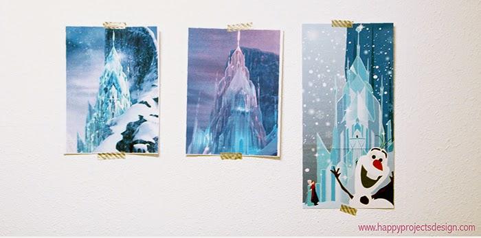 Inspiración Castillo Frozen DIY