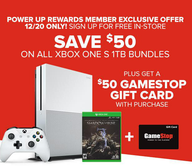 A GEEK DADDY: INCREDIBLE GAMESTOP XBOX ONE S 1TB DEAL