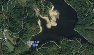 Barrage de la Valette carpe