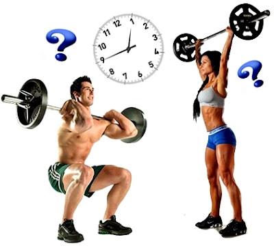 Alzar pesas más una hora gimnasio