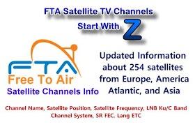 FTA satellite TV channels Start with 1