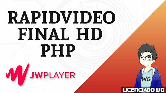 Rapidvideo JWPlayer HD Final