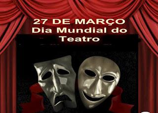 Resultado de imagem para dia do teatro 27 de março