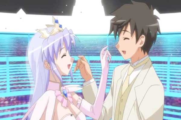 Yoake Mae Yori Ruri Iro na Crescent Love - anime nikah/marriage
