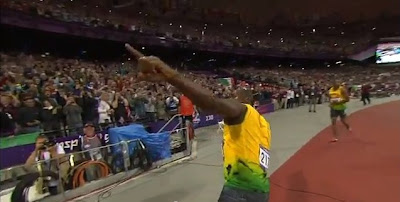 Usain Bolt wins 100m olympic gold at London 2012